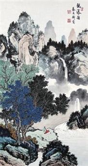 观瀑图 by cai gongheng