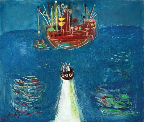 boats by nachum gutman