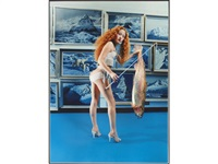 devon aoki: fish stick by david lachapelle