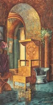 camera de aur a reginei maria by hans aescher