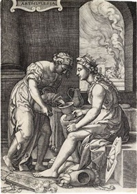 artemisia by georg pencz