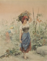 contadine by fabio fabbi