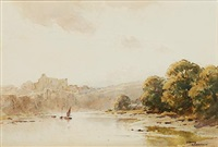 chepstow castle by gerald ackermann
