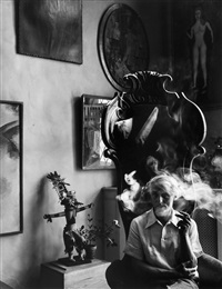 max ernst, nyc by arnold newman