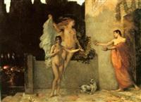 aphrodite and eros by cesare laurenti