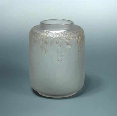 Muguet An R Lalique Frosted Glass Vase By Ren Lalique On Artnet