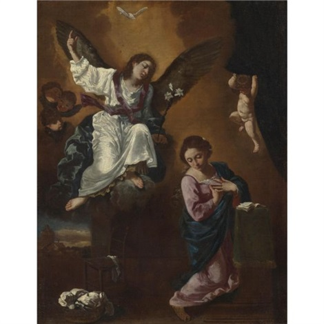 the annunciation by flaminio dagli ancinelli torri