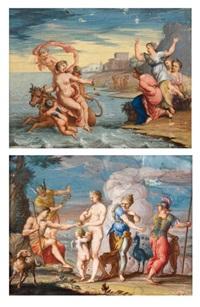l'enlèvement d'europe (+ le jugement de pâris; pair) by pierre brebiette