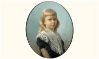 portrait d'enfant by alfred-georges hoen