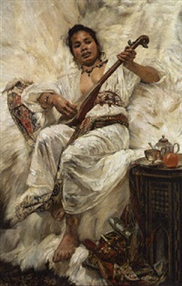 the mandolin player by jean c. ubaghs