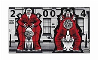 hooligans (in 24 parts) by gilbert and george