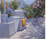 mykonos, may 2006 by andrew macara
