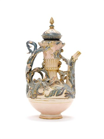 Ewer With Dragon Like Bird Designed By Mark Marshall By Royal