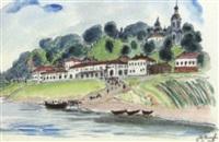 l'embarcadère by vladimir alekseevich milashevsky