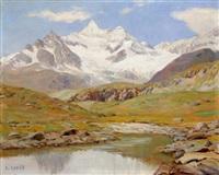 petit lac en montagne by ange abrate
