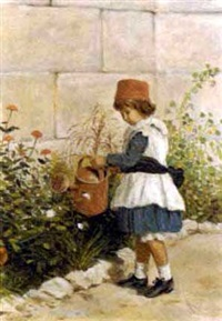 the head gardener by charles henry hunt