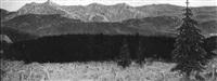 sonnenaufgang im kalimaragebirge - siebenbürgen by karl ziegler