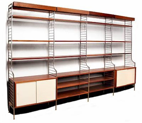 Nisse Strinning string continent wall unit by nils nisse strinning on artnet