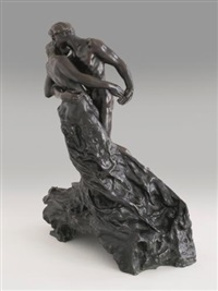 la valse (deuxième version) by camille claudel