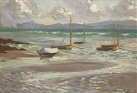 the dinghies at sutton, county dublin by rose brigid ganly