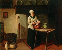 preparing the meal by jan ernst de groot