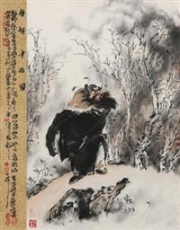 钟馗云林图 by lin yueping