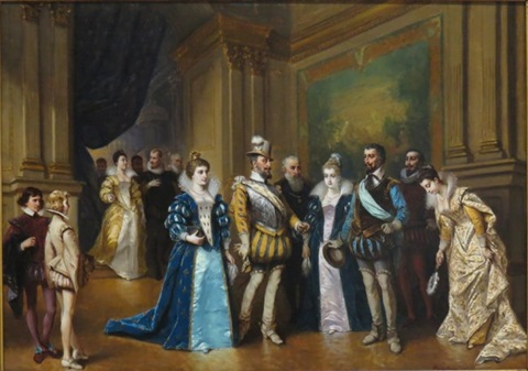 Image result for courtiers