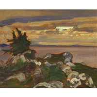 near petite riviere, nova scotia by james edward hervey macdonald