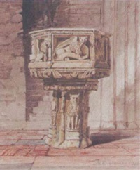 church font by miles edmund cotman