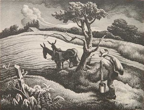 approaching storm by thomas hart benton