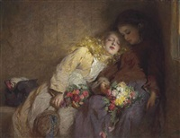 the return home by george elgar hicks