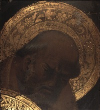 head of a saint (st. joseph?) by giovani di francesco toscani