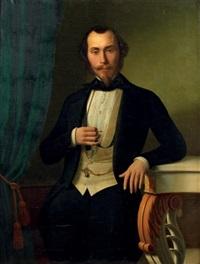 portrait d'homme by charles antoine joseph loyeux