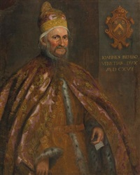 portrait of the doge giovanni bembo by domenico tintoretto
