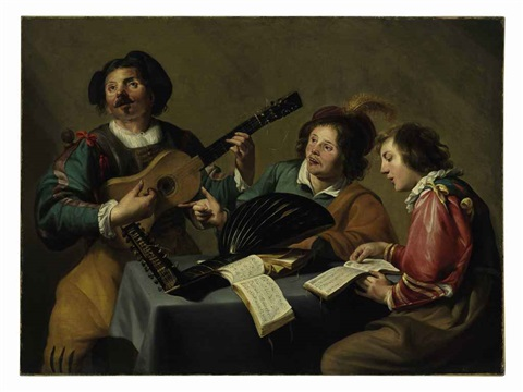 a musical concert by theodoor rombouts