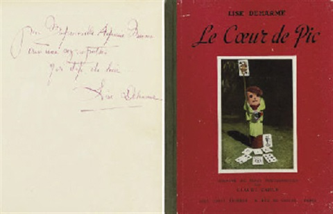 le coeur de pic the heart of spades book w20 works quarto first ed by claude cahun