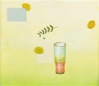 liten målning med drink by jens fänge