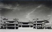 miami parking garage, miami, florida, robert law weed, architect by ezra stoller