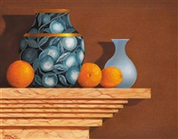 still life with oranges by paul kavanagh