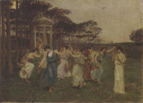 the dance of spring by domenico pennachini
