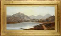 coniston; longhrea tarn, westmoreland (pair) by charles leslie
