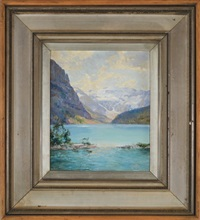 lake louise by walter launt palmer