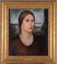 portrait of a lady by tressa emerson benson
