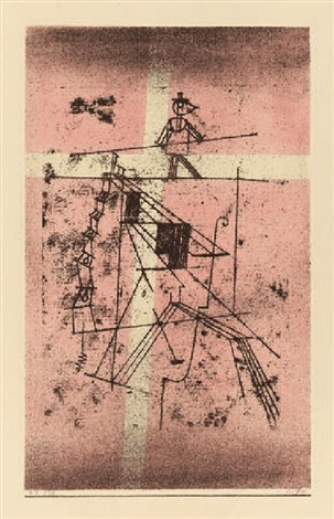 seiltänzer pl4 from kunst der gegenwart by paul klee