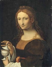 the magdalen by bernardino luini