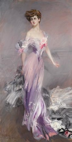 portrait of mrs howard johnston by giovanni boldini