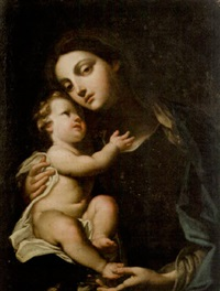 the madonna and child by flaminio torre