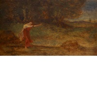 the woodland spring by robert loftin newman