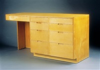 freestanding desk by richard neutra