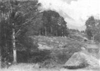 hilly landscape by eugene leslie smythe